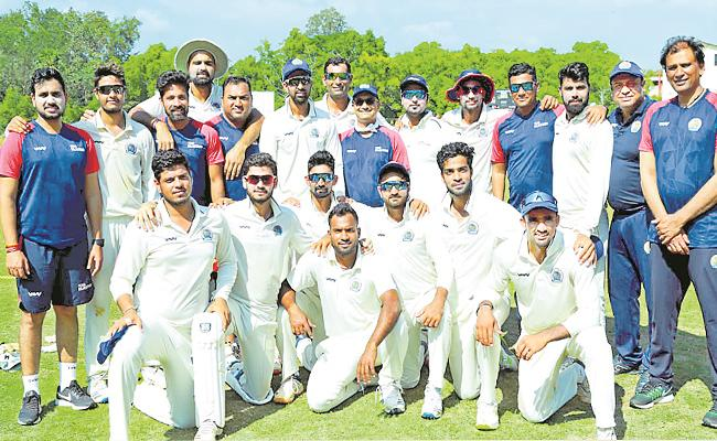 Ranji Trophy: Rajasthan Beat Hyderabad By 9 Wickets In 3 Days - Sakshi
