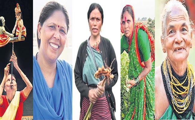 Womens Padma Shri Awards Winners - Sakshi