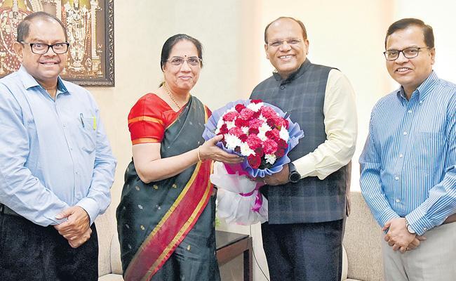 CSs Meeting In Telangana Secretariat - Sakshi
