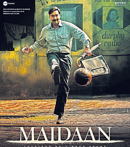 Maidaan first look released - Sakshi