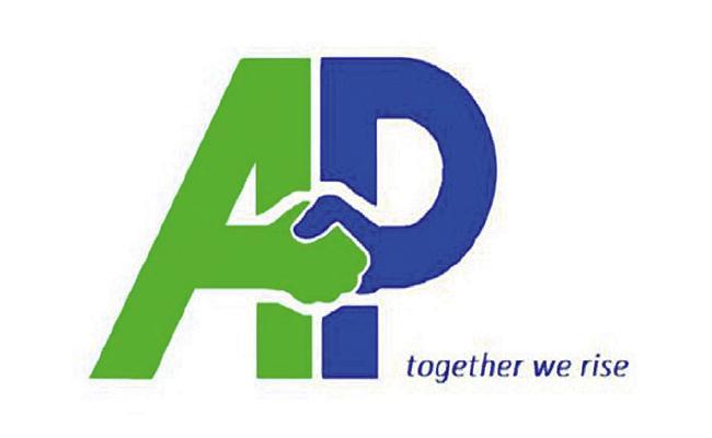 AP Brand Logo Inspired By Navaratnas - Sakshi