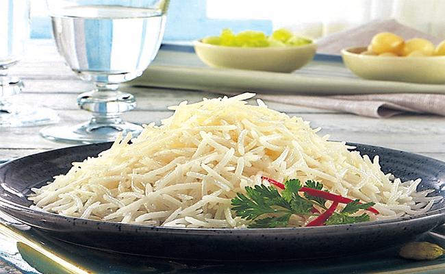 Hyderabad Second place in Basmati Rice Use - Sakshi