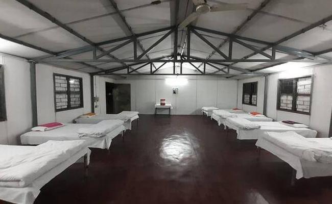Coronavirus : Quarantine Facility For Students Who Returns From China - Sakshi