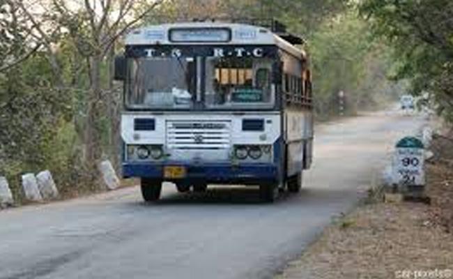 TSRTC Cancel Bus Services At Hajipur - Sakshi