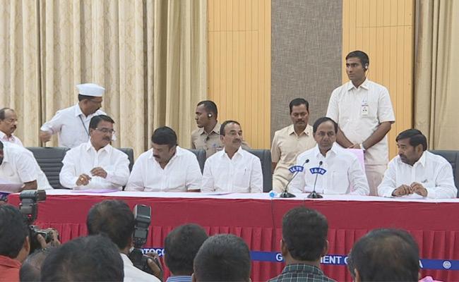Telangana Municipal Elections Survey Results Favor For TRS Says KCR - Sakshi
