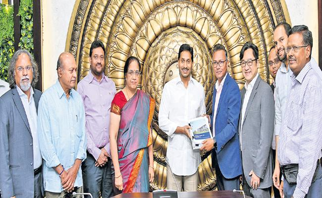 BCG recommendations on capital city system in the state - Sakshi