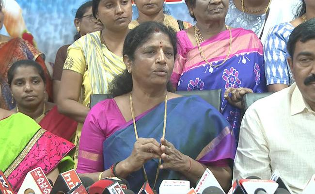 Minister Vanga Geetha Talks In Press Meet Over Boston Committee Report - Sakshi