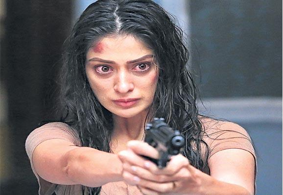 Garjana Movie First Look Poster Release - Sakshi