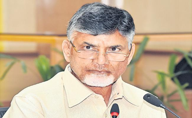 Chandrababu comments on IAS officer Vijay Kumar - Sakshi