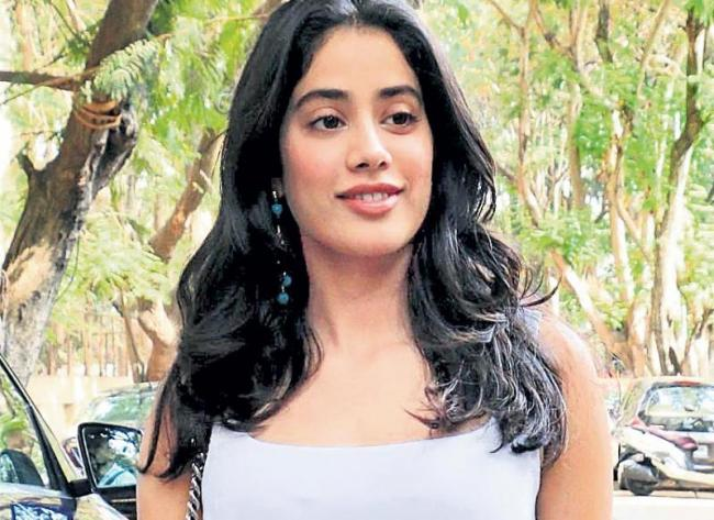 Janhvi Kapoor learning Kathak and Urdu for Karan Johar film - Sakshi