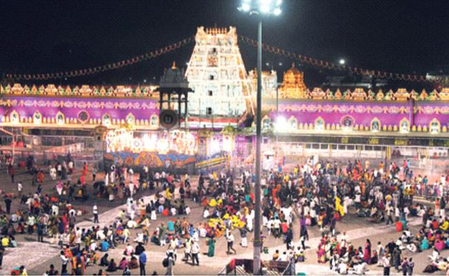 Tirumala Ready For Vaikunta Ekadasi - Sakshi