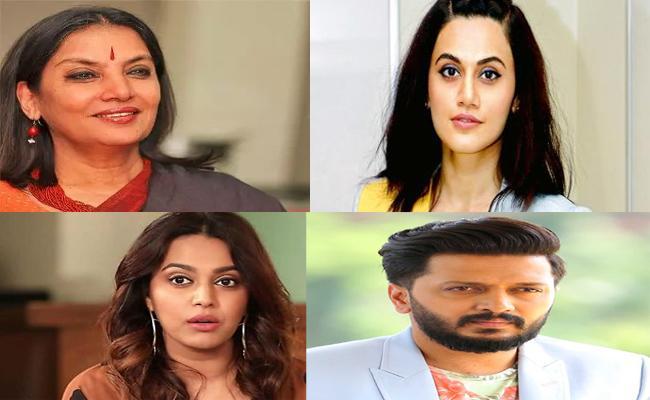 Bollywood Celebrities Condemn JNU Attack - Sakshi