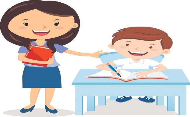 Special workbook for teaching the illiterates - Sakshi