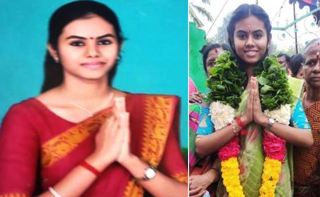 MBBS Telugu Doctor Win in Sarpanch Elections Tamil nadu - Sakshi