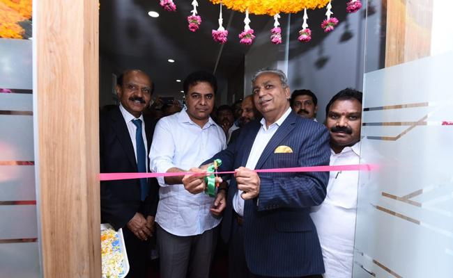KTR Inaugurated IT Companies In Madikonda At Warangal - Sakshi