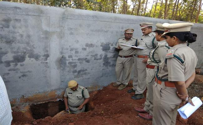 The Investigation Continues In Quality Of Wall constructing In Khammam - Sakshi