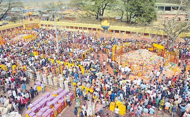 All Arrangements Set For Medaram Jatara By Telangana Police Department - Sakshi