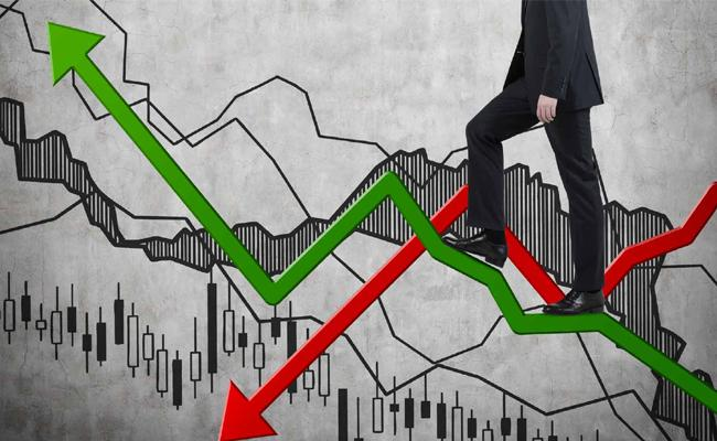 Sensex Plunges Over 350 Points, recovers - Sakshi