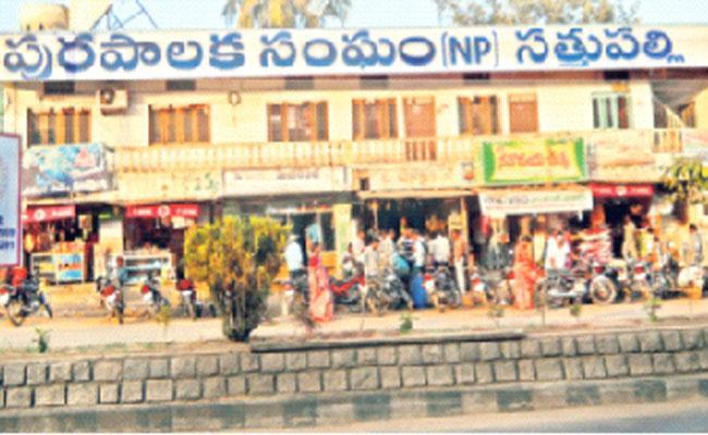 Khammam Sattupalli Municipal Elections Voters - Sakshi