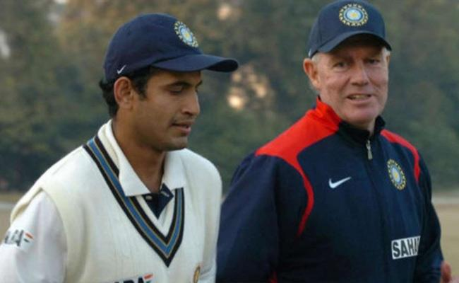 Irfan Pathan Retirement: Greg Chappell Recollects Memory - Sakshi