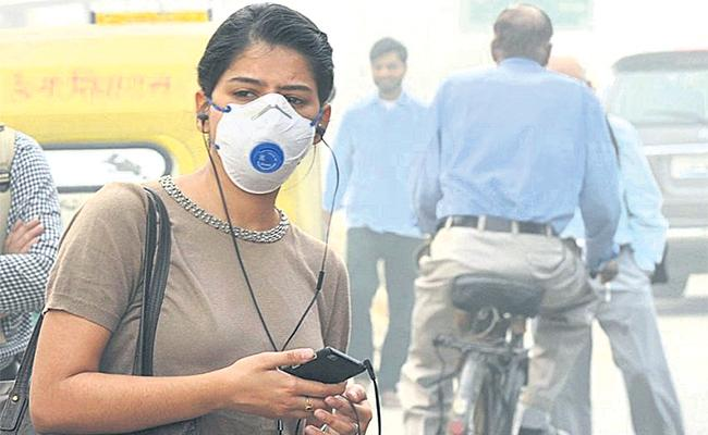 Air Pollution Danger Stage in Hyderabad - Sakshi