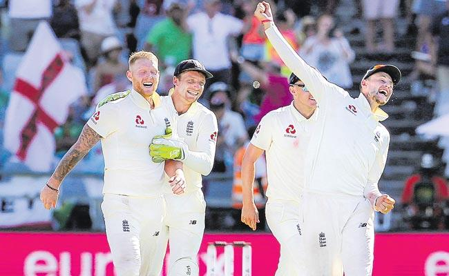 England Beat South Africa In Cape Town Thriller To Level Series  - Sakshi