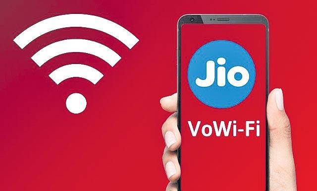 Reliance Jio Launches Voice And Video Calling Over Wi-Fi - Sakshi