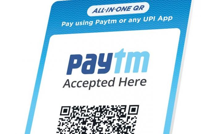 Paytm launches all in one QR for merchants - Sakshi