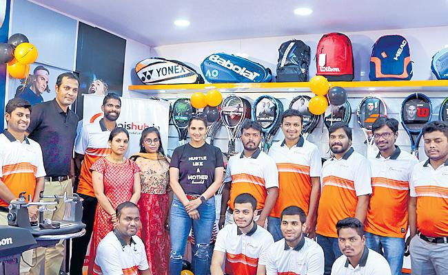 Tennis Retail Hub In Hyderabad - Sakshi