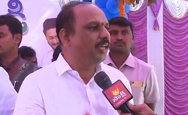 Minister Shankar Narayana Fires On Chandrababu - Sakshi