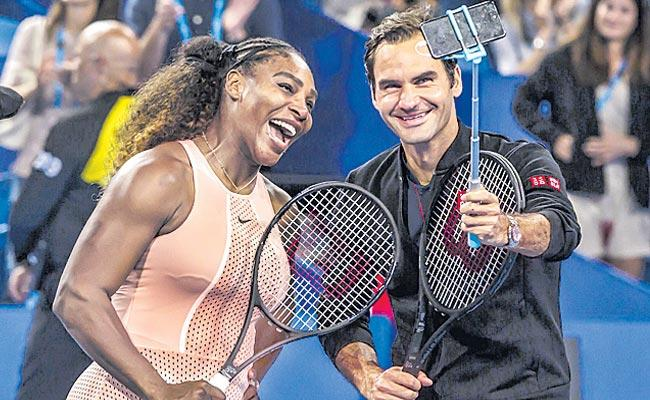 Serena And Federer To Play In Exhibition For Australia Bushfire Relief Efforts - Sakshi
