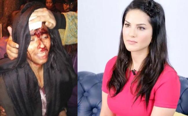 Sunny Leone Respond On JNU Violence - Sakshi