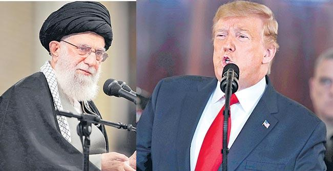 Iran strikes back at US with missile attack on bases in Iraq - Sakshi