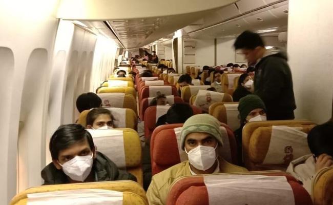 Kerala Students Parents Thanks To Air India For Plane Dash To China - Sakshi