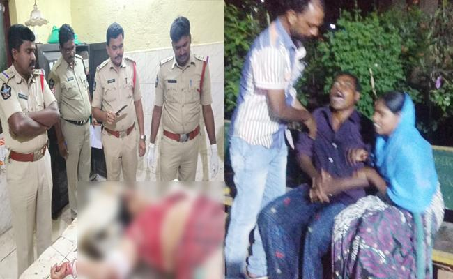 Man Killed Brother Wife in West Godavari Palakollu - Sakshi