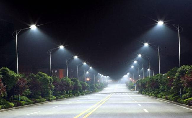 Peddireddy Ramachandra Reddy Orders On LED Street Lights - Sakshi