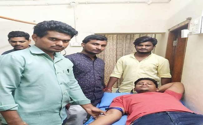 Students Interested In Giving  Blood Donation In Adilabad - Sakshi