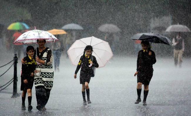 Rainfall Forecast for Coastal Andhra Pradesh Today - Sakshi