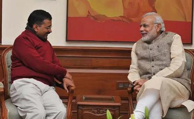 Arvind Kejriwal Reply To Narendra Modi - Sakshi