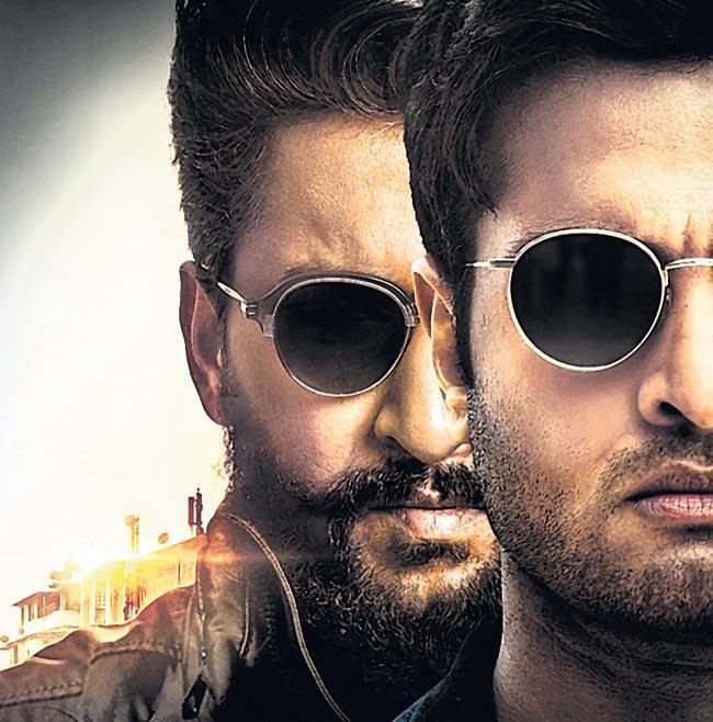 nani new movie v poster release - Sakshi