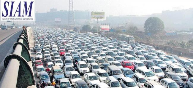 Domestic passenger vehicle sales down 6.2persant in January - Sakshi