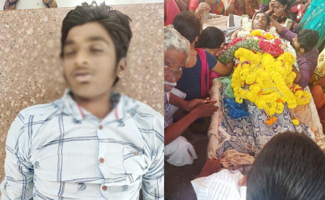 Tenth Class Student Commits Suicide in YSR Kadapa - Sakshi