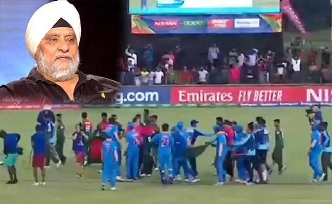 Former Team India Captain Bishan Singh Bedi Slams India Under 19 Behaviour - Sakshi