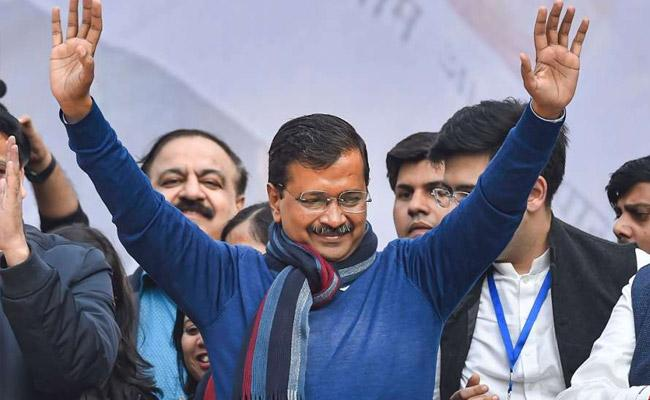 Seven Schemes Helps Arvind Kejriwal To Win - Sakshi