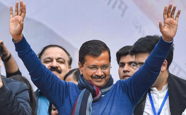 Arvind Kejriwal To Take Oath On February 16 In Ram Leela Maidan - Sakshi