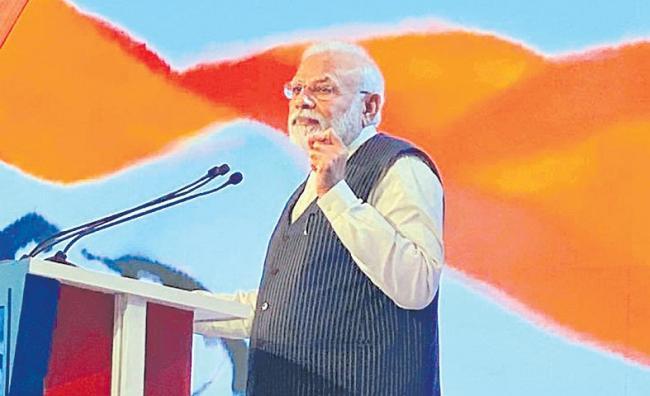 Pay taxes for India is development says PM Narendra Modi - Sakshi