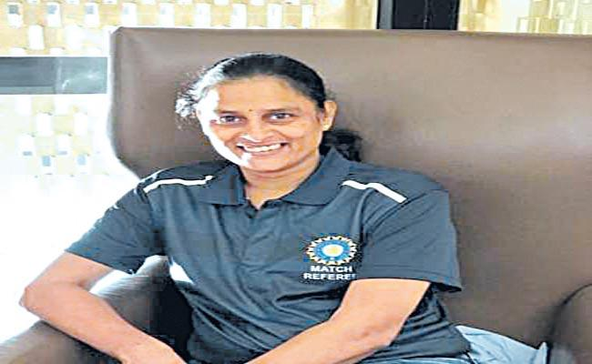 GS Lakshmi Set To Become 1st Woman Match Referee At Global Event - Sakshi