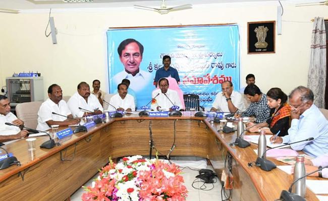 CM KCR Visits Kaleshwaram Project At Jayashankar Bhupalpally - Sakshi