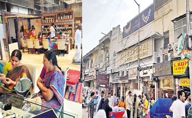 Gold And Diamond Business Shifting to City From Charminar - Sakshi