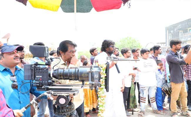 New Movie Shooting In Mancherial - Sakshi
